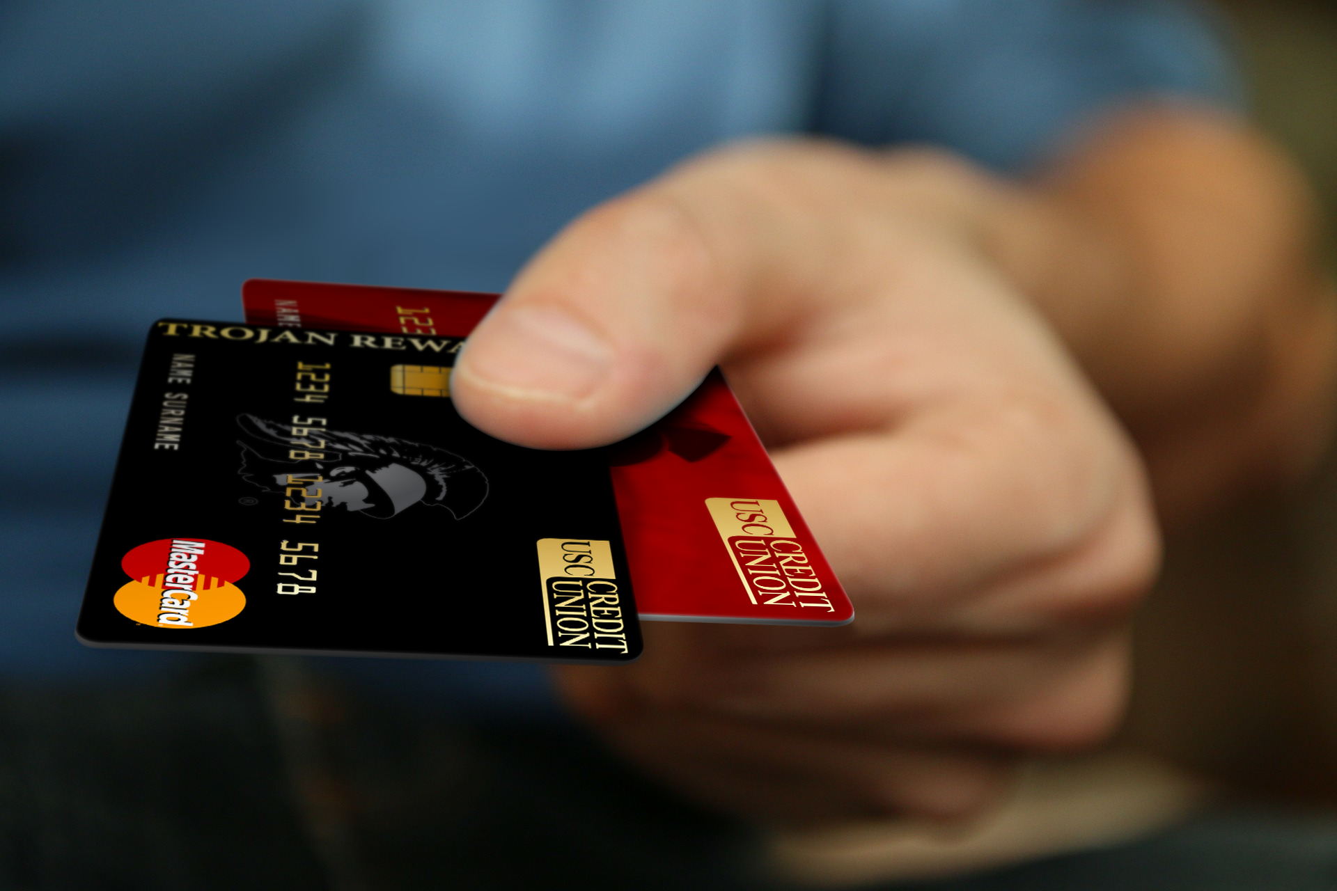 Credit Cards Photo Mockup-3
